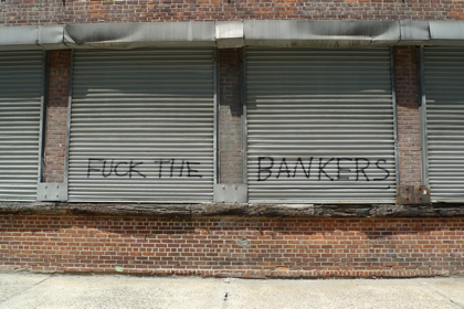 Fuck the bankers