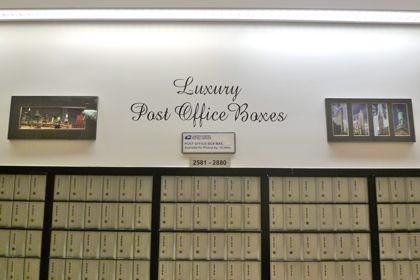 Luxury post pffice boxes