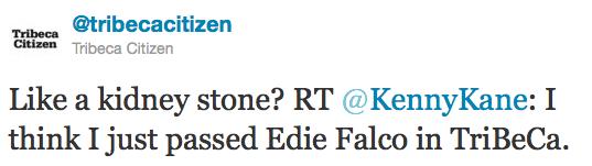 Tweet edie falco
