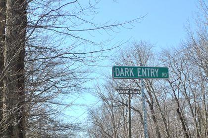 Dark entry road