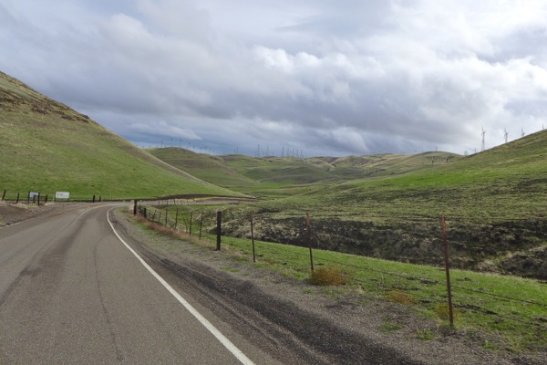 Pass west of tracy