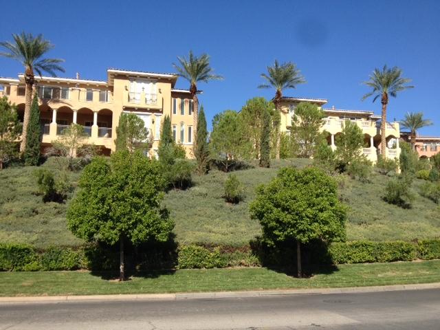 Residences on the hillside