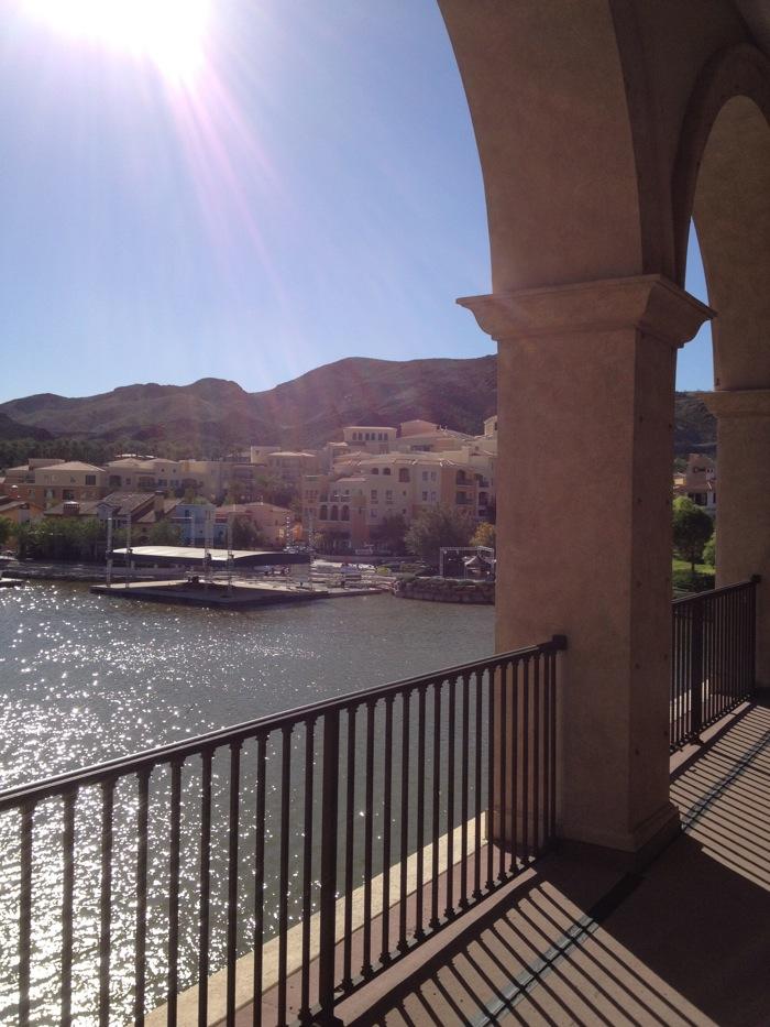 Lake Las Vegas from bridge
