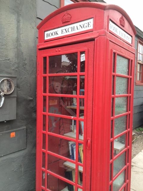 Book Exchange in Santa Barbara Funk Zone