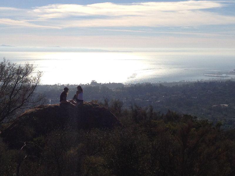 Saddle Rock hike SB