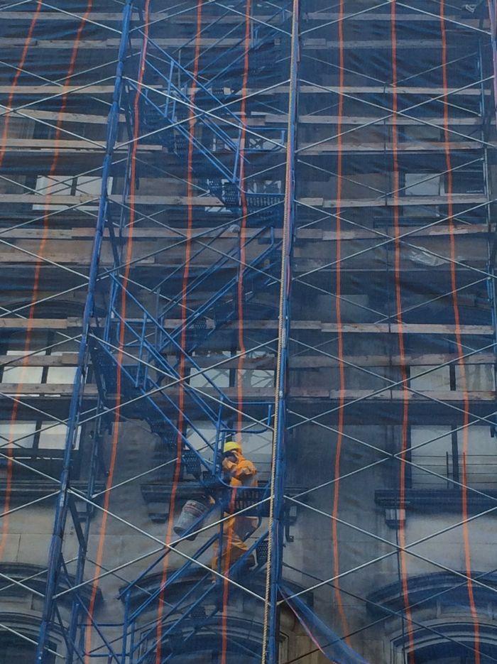 Reade Street construction