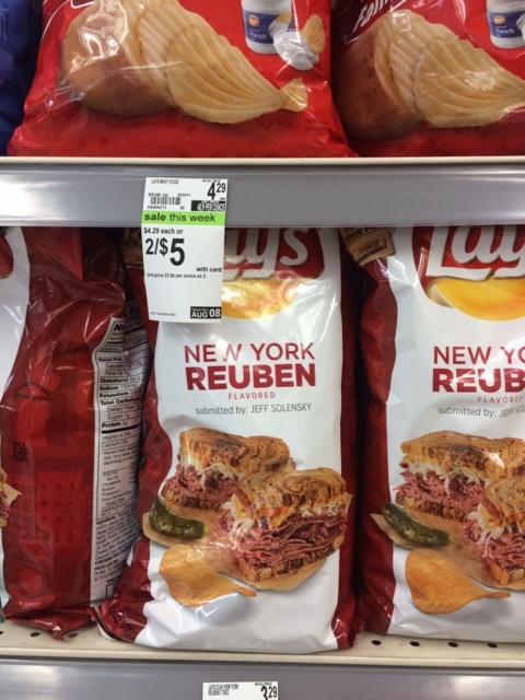New York Reuben Lays