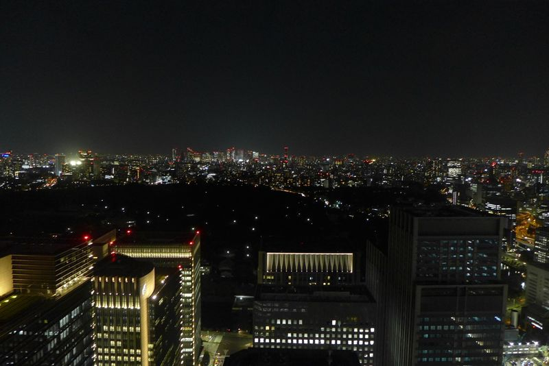 Night view from Aman Tokyo