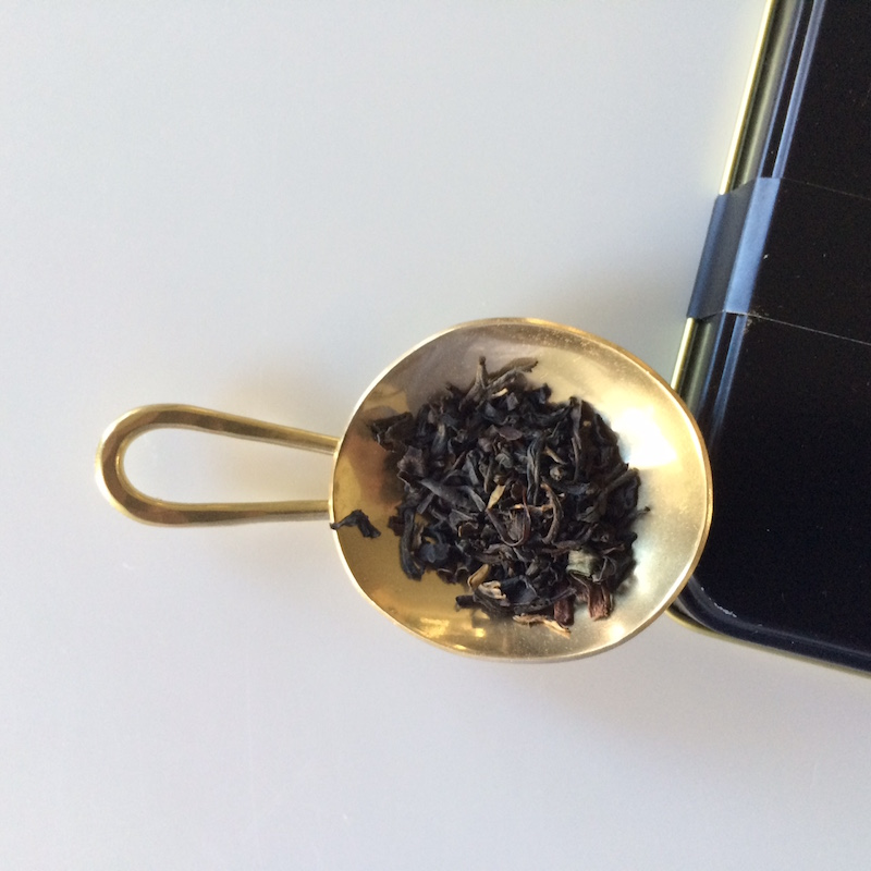 Tea scoop from Akomeya