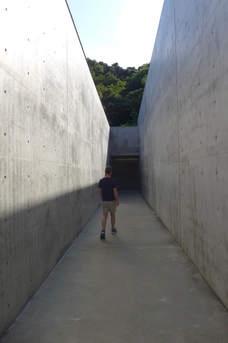 Adam at Lee Ufan Museum Naoshima
