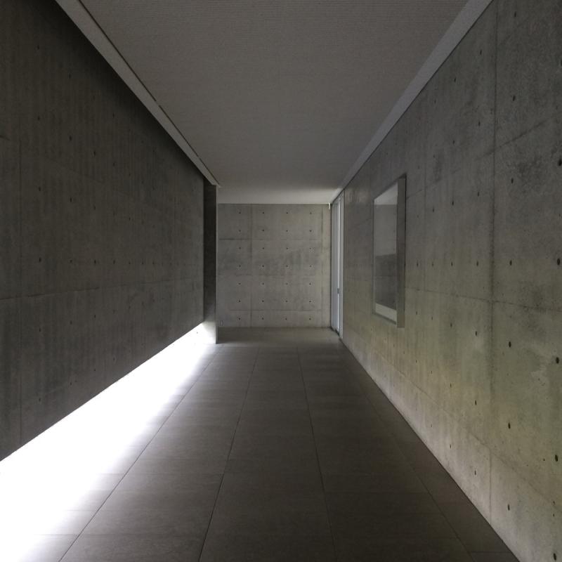 Benesse House hallway3