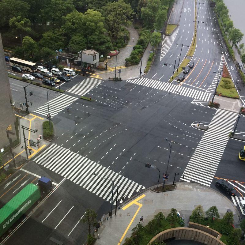 Hibiya intersection