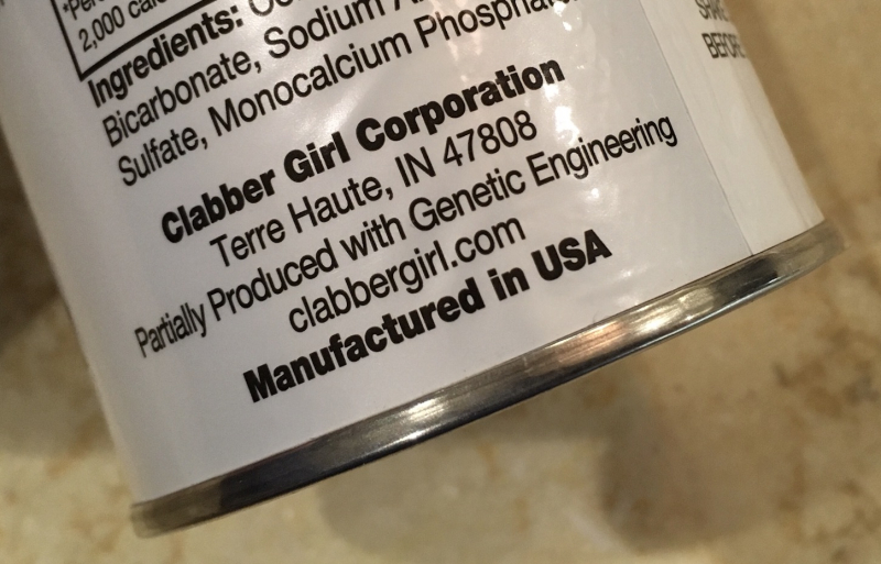 Clabber Girl made with genetic engineering