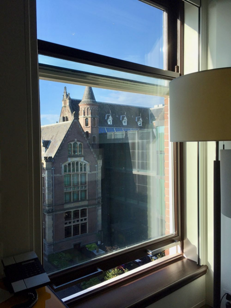 Conservatorium Suite window