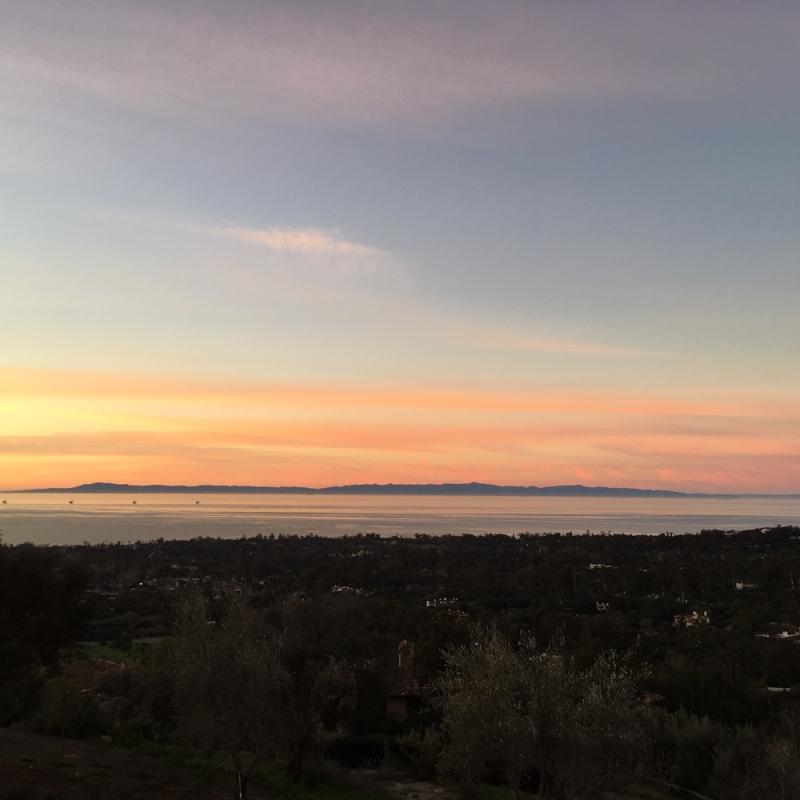 Montecito sunrise