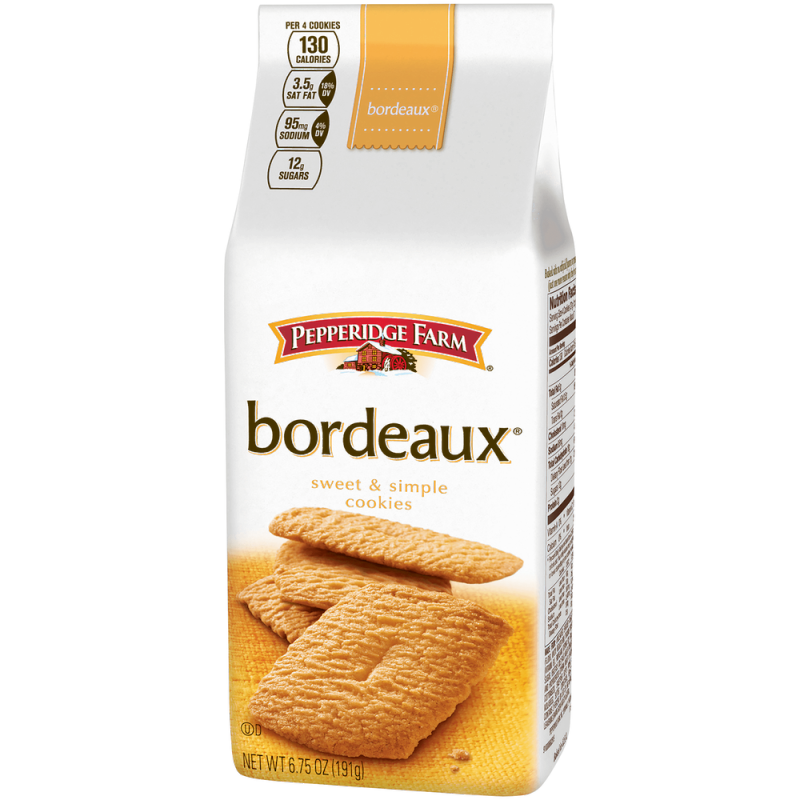Pepperidge Farm Bordeaux cookies