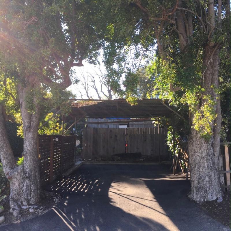 Montecito carport