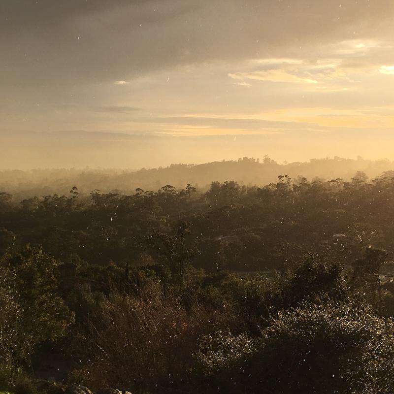 Montecito rain