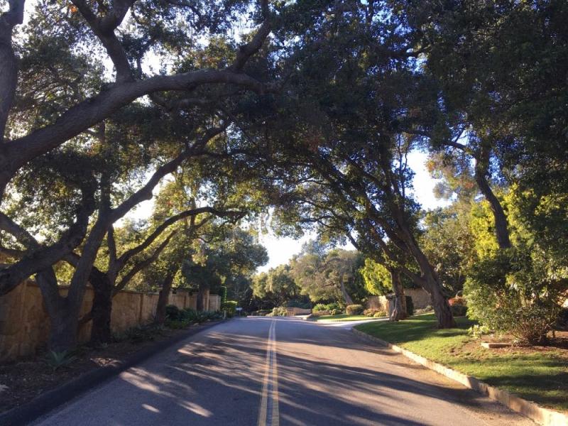 E Mountain Rd Montecito