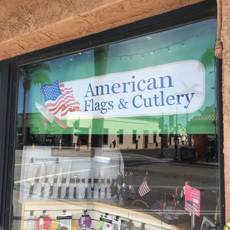 American Flags and Cutlery Ventura