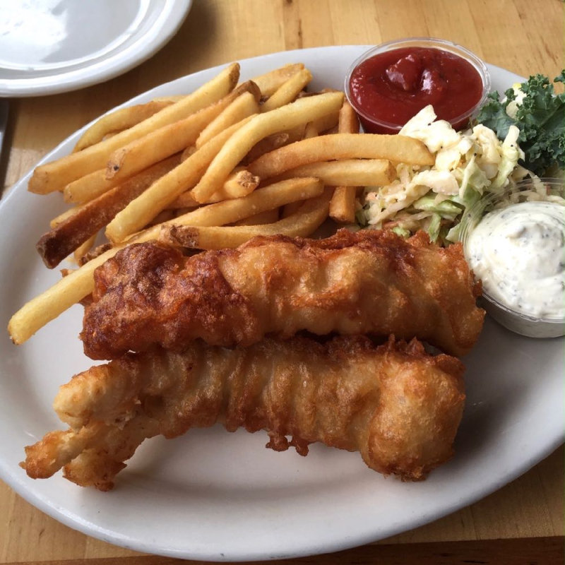 Brophy Bros fish and chips