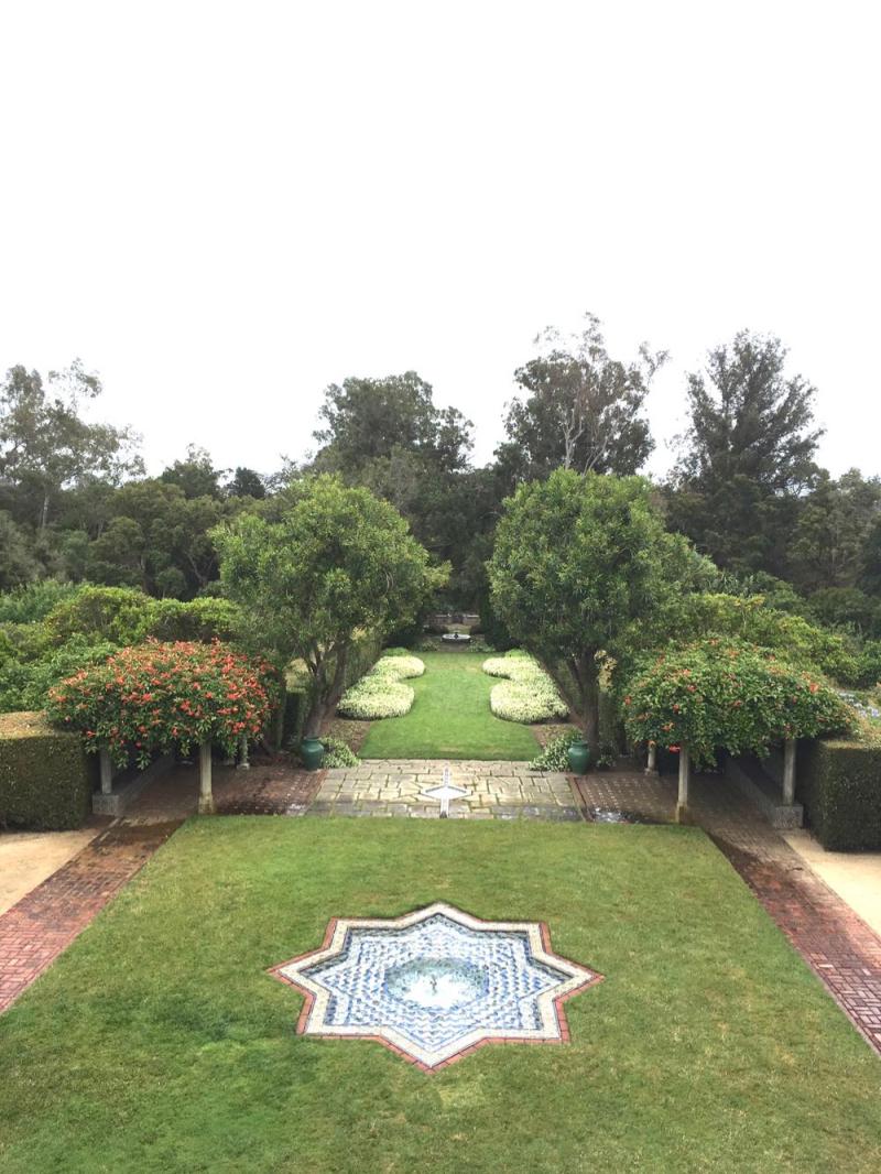 Casa del Herrero garden
