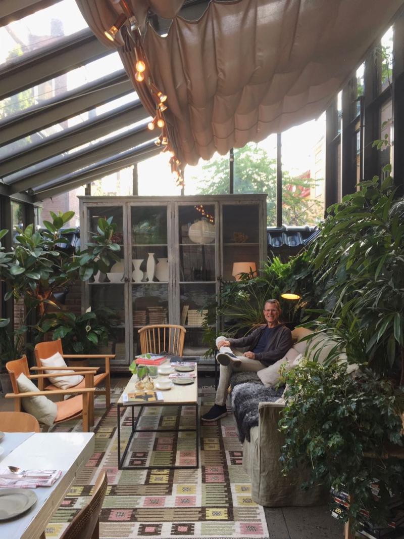 Ett Hem greenhouse