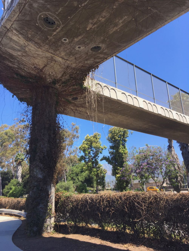 Ortega pedestrian overpass