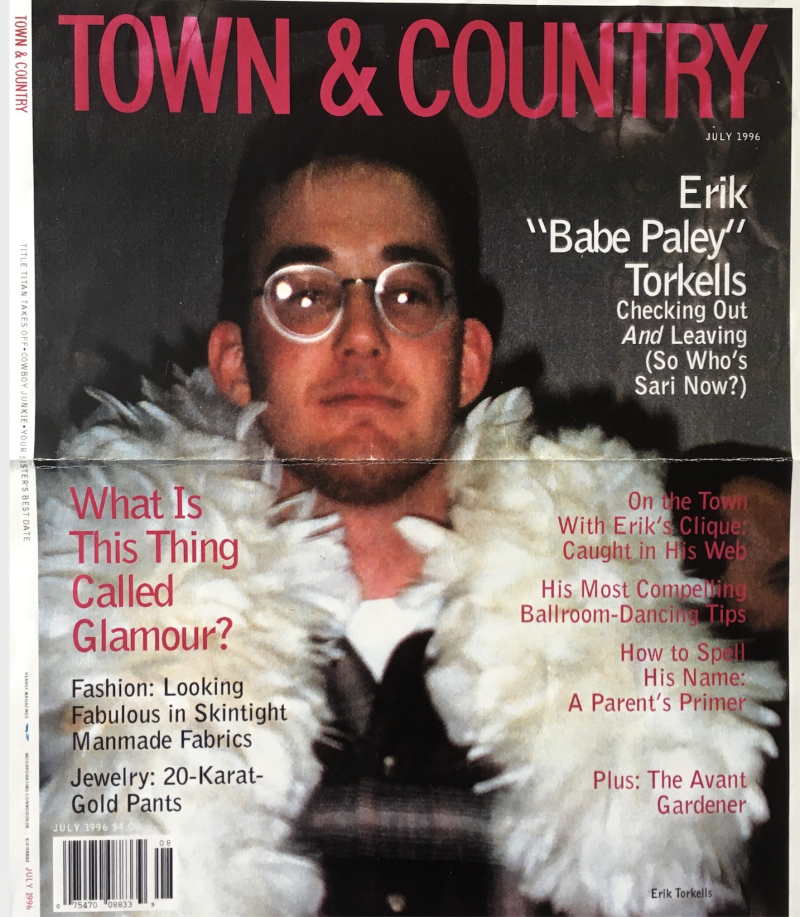 Town and Country ET cover