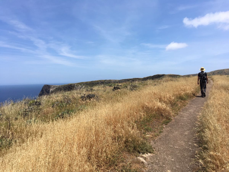 Canyon Point Loop on Santa Cruz Island