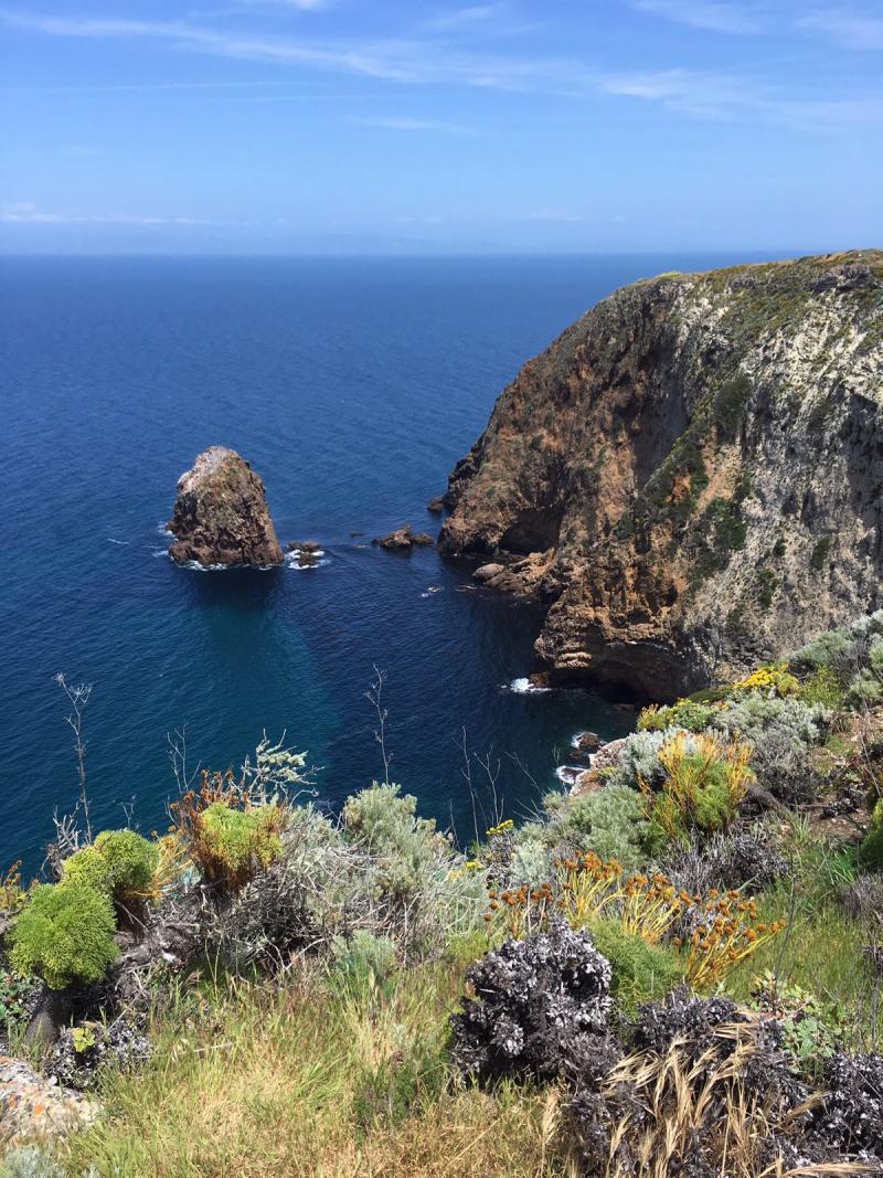 Canyon Point Loop on Santa Cruz Island2