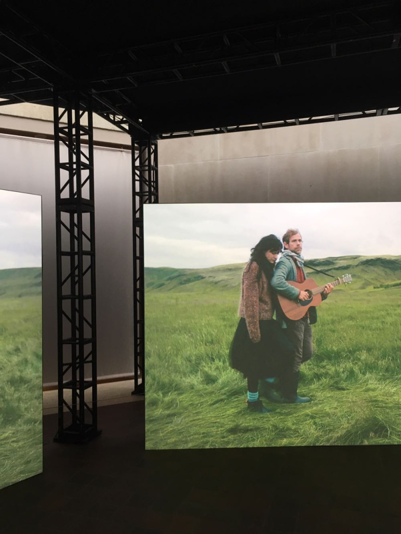 Death Is Elsewhere by Ragnar Kjartansson at the Met detail