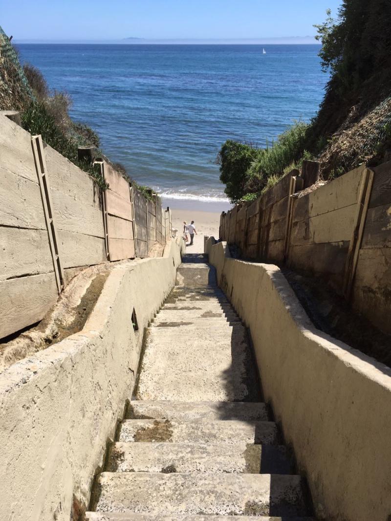 1000 Steps Beach Santa Barbara