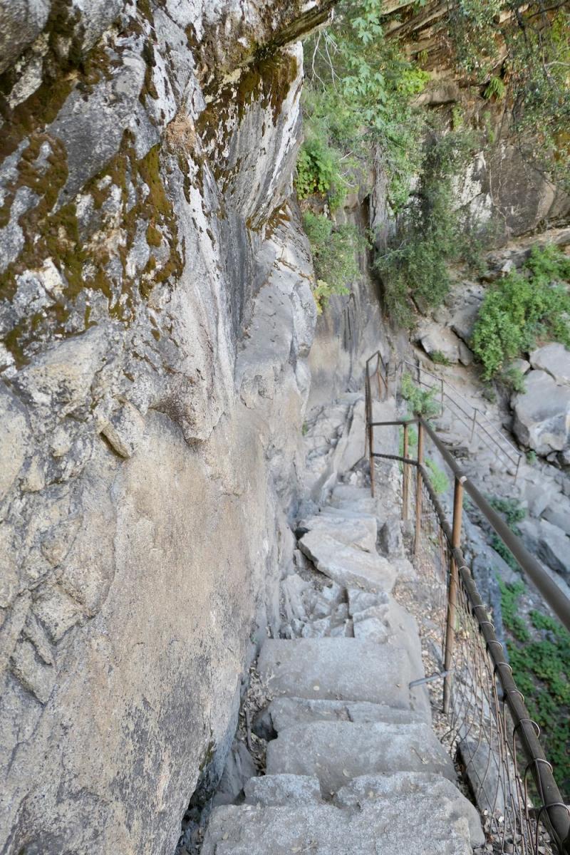 Vernal Falls stairs