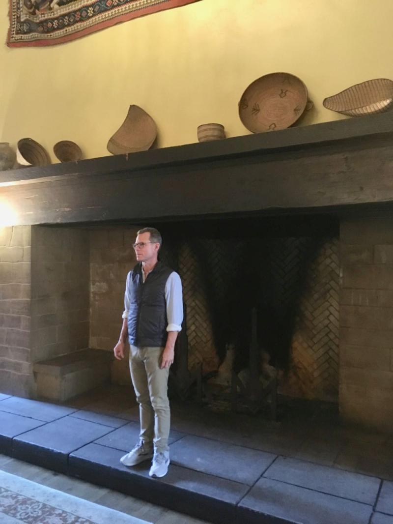 Ahwahnee Yosemite fireplace