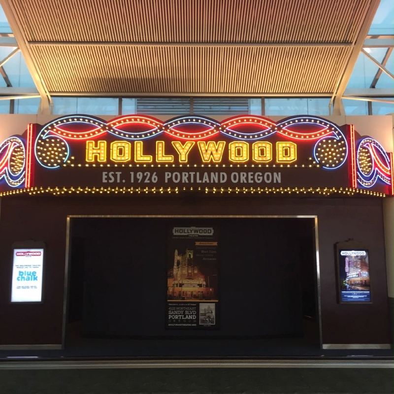 Hollywood Theatre Portland airport PDX