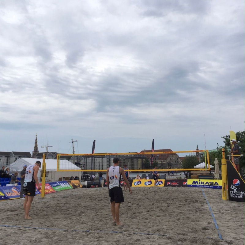Copenhagen beach volleyball