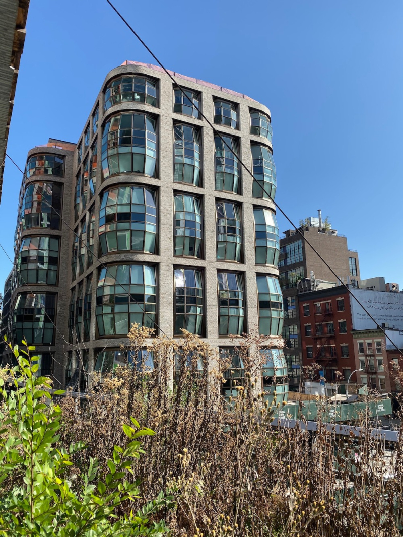 Heatherwick Studio High Line building 515 West 18th