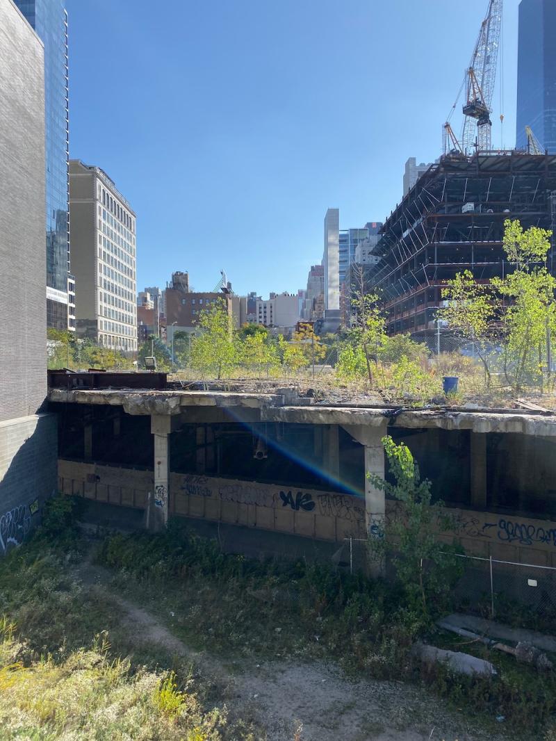 Under Hudson Yards