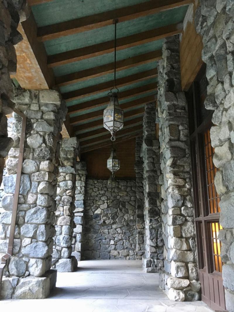 Ahwahnee Yosemite stonework