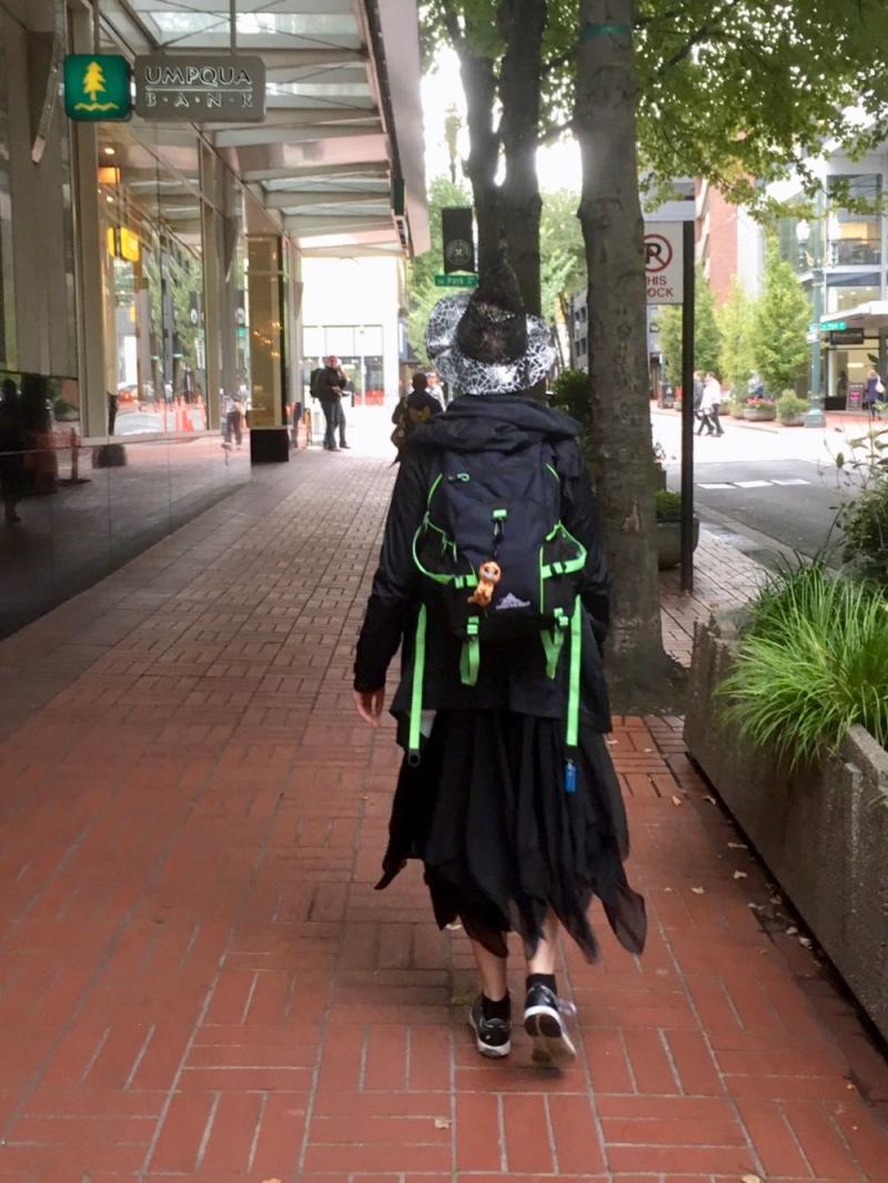 Portland witch