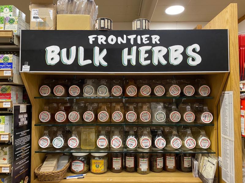 Lazy Acres bulk herbs