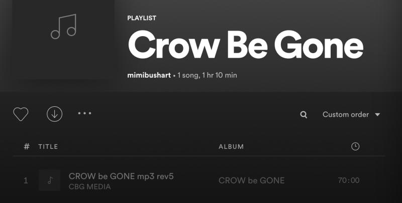 Crow B Gone